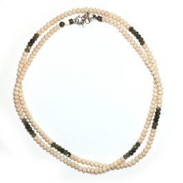 Classic Beige Crystal 6mm-Circle